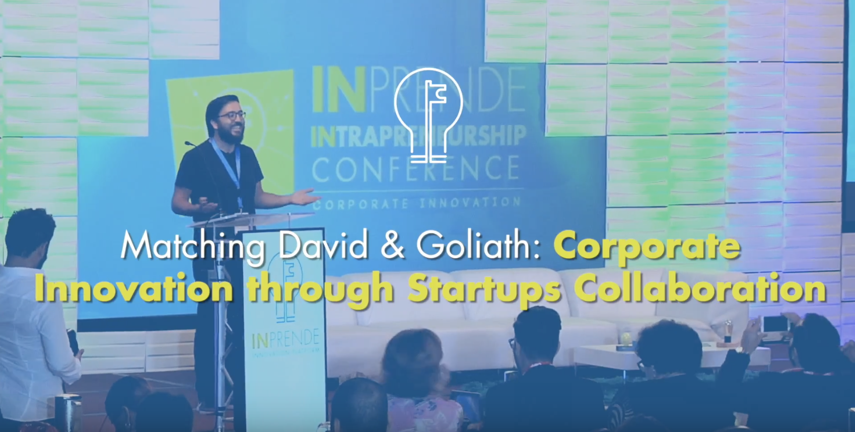 Conferencia – Corporate Innovation though Startups Collaboration