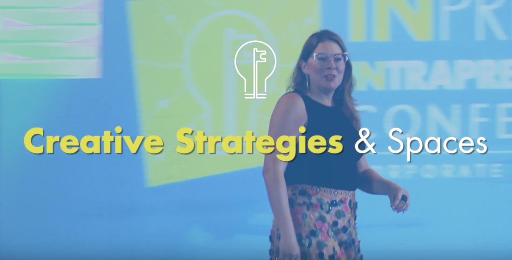 Conferencia: Creative Strategies & Spaces